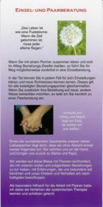 Heilpraktiker (Psychotherapie) Peter Holzhauer in Augsburg, Informations-Flyer Seite 2