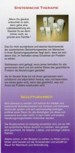 Heilpraktiker (Psychotherapie) Peter Holzhauer in Augsburg, Informations-Flyer Seite 4