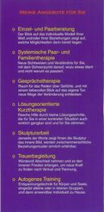 Heilpraktiker (Psychotherapie) Peter Holzhauer in Augsburg, Informations-Flyer Seite 5